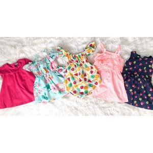 BABY GAP ETC. Bundle Lot 2T Dresses Summer